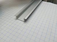 Профиль врезной алюминиевый  для  Led ленты ( анодированый)