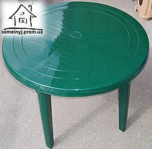 Стол пластиковый круглый С002