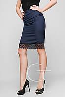 Элегантная юбка карандаш из прочной костюмной ткани Feliz 25345
