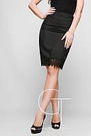Элегантная юбка карандаш из прочной костюмной ткани Feliz 25346