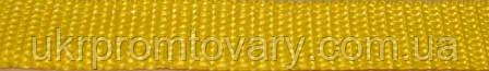 Лента ременная – 20 мм желтая (рулон 50м) РН-320кг №32-17, фото 2
