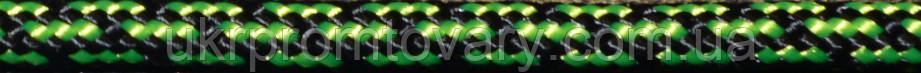 Паракорд 3 мм. Цвет №11. Цвет - черно-зеленый.  №455/11, фото 2
