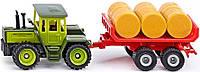 Трактор MB с прицепом для снопов, 1:72, Siku