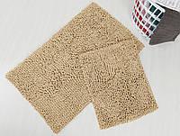 Набор ковриков в ванную Irya Drop bej 60х100+45х60