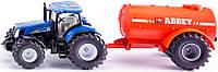 Трактор New Holland с цистерной, 1:50, Siku