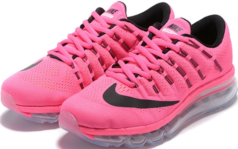 2a61fb3e9 Кроссовки женские Nike Air Max 2016 Pink/Black от