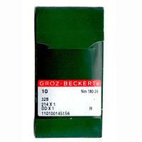 Иглы для промышленных швейных машин 328/214X1/DDX1 180R Groz-Beckert