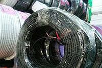 Кабель медный 1жила в экране диаметр 2,6мм,(10x0.12),чёрный