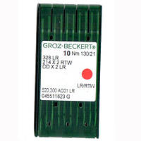 Иглы для промышленных швейных машин 328 LR/214X2 RTW/DDX2LR 130LR Groz-Beckert