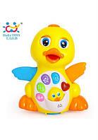 Музыкальная интерактивная игрушка huile toys Желтый утенок (808)