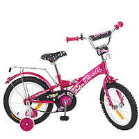 Велосипед двухколёсный детский 16 дюймов Profi Original girl  G1662 ***
