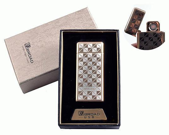 """Спиральная USB зажигалка """"Broad"""" №4850-2, модно, стильно, практично, отличное приобретение, подарок, фото 2"""