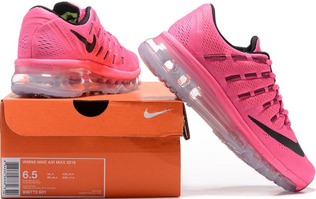 020f4c1c2 Мы предлагаем купить женские кроссовки Pink/Black из модельного ряда 2016  года от компании Nike. Полное название модели выглядит так: Nike Air Max  2016 ...