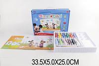 Пальчиковые краски fp6602 Микки Минни 12 цветов в коробке 33,5*5*25см
