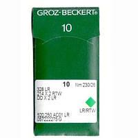 Иглы для промышленных швейных машин 328 LR/214X2 RTW/DDX2LR 230LR Groz-Beckert