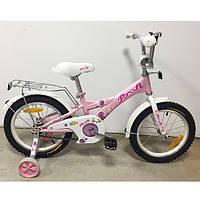 Велосипед двухколёсный детский 16 дюймов Profi Original girl  G1661 ***