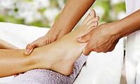 Классический массаж ног 15 мин.