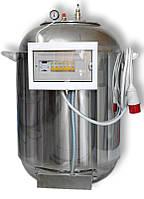 Автоклав промышленный для консервирования А185 Пром, нержавейка, водяная подушка, 18 кВт, 380 В, 30 кг