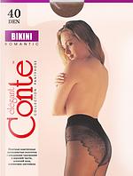 Колготы CONTE BIKINI 40 ден (nero, bronz, natural) (2; 3; 4)
