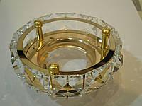 Точечный светильник Feron CD4525 MR16 прозрачный золото, фото 1