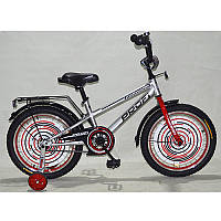 """Детский двухколесный велосипед Forward G1876 Profi, 18"""" металлик"""