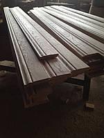 Высокий деревянный плинтус Ясень 100х20мм