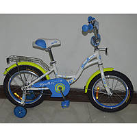 Велосипед двухколёсный детский 16 дюймов Profi Butterfly G1624***
