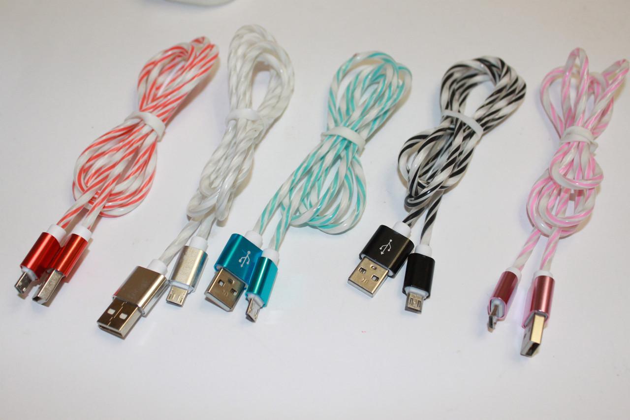 Кабель USB-microUSB Silicon