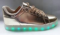 Светящиеся кроссовки Usb зарядки shoes led , фото 1
