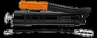 Шприц смазочный рычажный 400 см3 с трубкой 8 x 300 мм NEO 11-500
