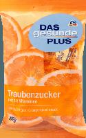Декстроза з 10 вітамінів DAS gesunde PLUS Traubenzucker mit 10 Vitaminen, 100 g