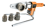 Трубозварювальна машина для зварювання полімерних труб, 650 Вт, 4 зварювальні втулки