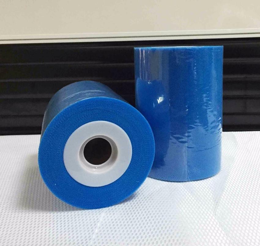 Лента фатиновая премиум 15 см синяя