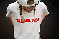 Футболка Sputnik 1985 белая унисекс (мужская,женская,детская)