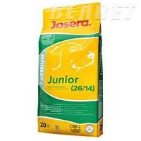 JOSERA Junior (26/14) Рост и развитие, 20 кг