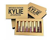 Набор матовых помад Kylie Birthday Edition, фото 1