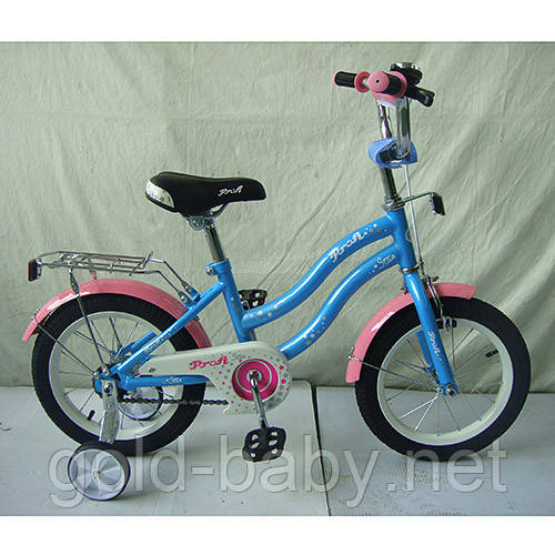 Велосипед двухколёсный детский 14 дюймов Profi Star L1494 *** - Gold-baby.net в Одессе