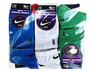 Носки мужские Nike, короткие, размер 42-45, (12шт в упаковке)