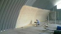 Утепление складов пенополиуретаном