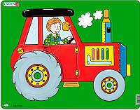 Пазл рамка-вкладыш Lasren - Трактор
