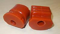 Полиуретановые задние сайлентблоки переднего рычага Deawoo Lanos (Ланос) ремонтные 18 мм