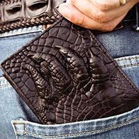 Эксклюзивные изделия из кожи крокодила, питона и ската