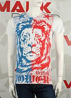Valimark качественная мужская футболка Валимарк лев british код 17206