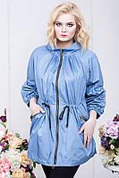 Женская куртка ветровка большого размера 54-70