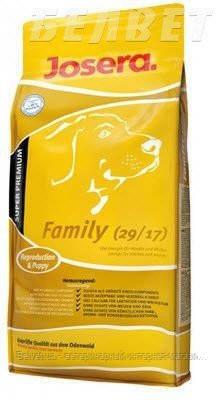 JOSERA Family (29/17) сухой корм для беременных и кормящих сук и прикорма щенков 15 кг