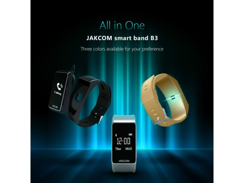 Smart Band Jakcom B3 (годинник-навушник-фітнес трекер)