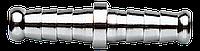 Штуцер ялинка до шлангу 12 мм, двойной 12-613