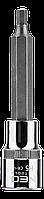 """Головка сменная с шестигранной насадкой 1/2"""", H5 x 100 мм NEO Tools 08-780"""