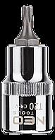 "Головка сменная с насадкой Torx 1/2"", T20 x 55 мм NEO Tools 08-750"