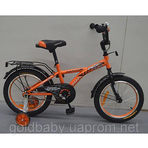 Велосипед двухколёсный детский 14 дюймов Profi Racer G1435*** - Gold-baby.net в Одессе